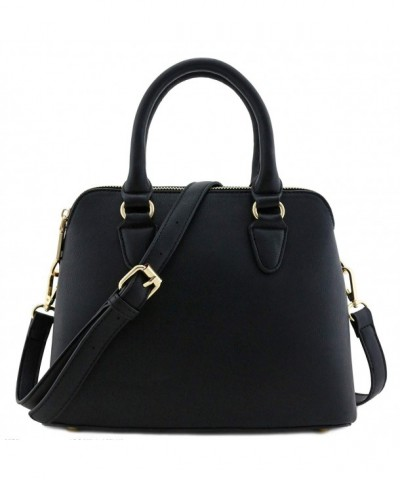 Classic Double Handle Dome Satchel