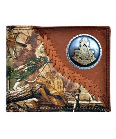 Custom Badger Masonic Realtree Bi fold