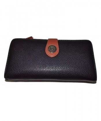 Stone Mountain Womens Leather Checkbook
