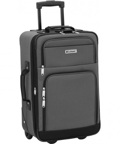 Leisure Luggage Expedition Expandable Charcoal