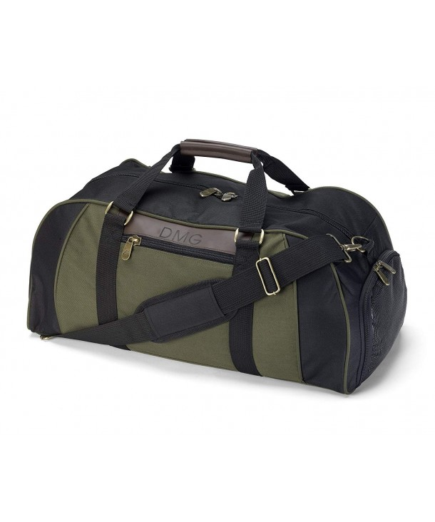 Personalized Deluxe Duffel Travel Compartment