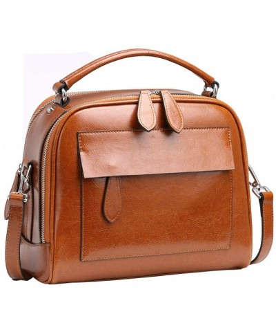 Leather Handbags Shoulder Satchel Handbag