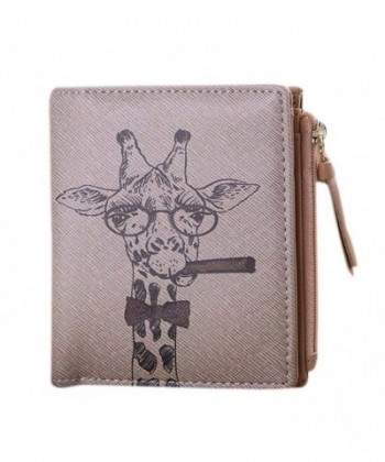Wallet Morecome Women Vintage Giraffe