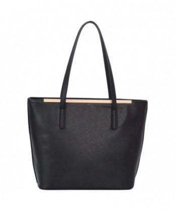 Leather Satchel Shopper Handle Womens
