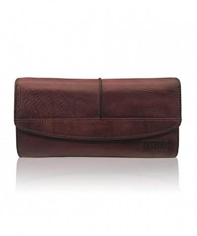 Wallets Genuine Leather Capacity Handmade