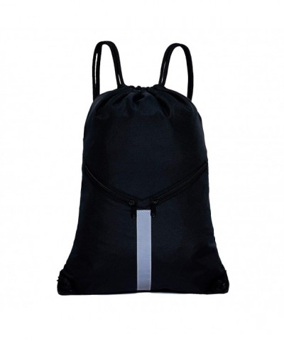 KORIDO Drawstring Backpack Unisex Reflective