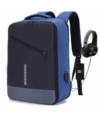 Business Backpack Headphone Interface Resistant