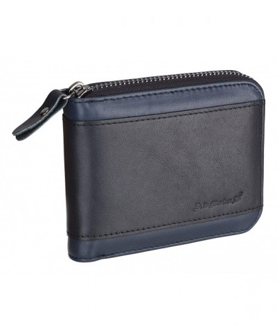 Admetus Genuine Leather Cowhide Wallet