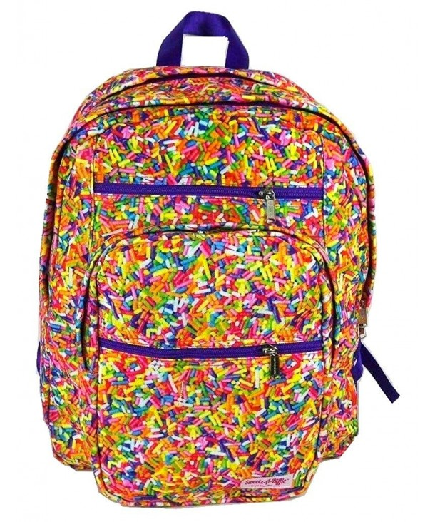 Top Trenz Inc Candy Backpack Sprinkles