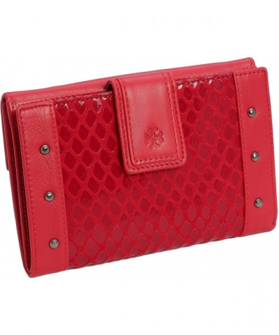 Womens Genuine Leather Purse Wallet