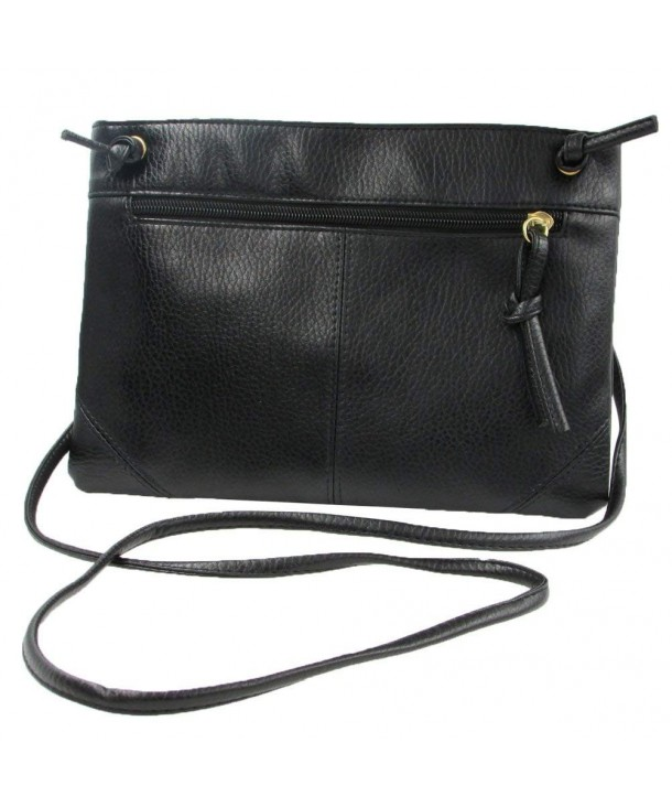 Donalworld Leather Crossbody Shoulder Handbag