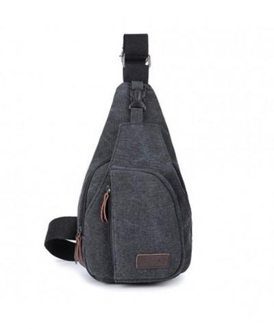 JYS365 Canvas Messenger Shoulder Backpack