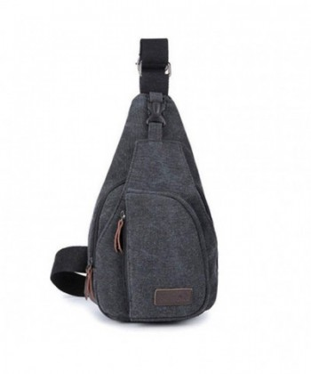 JYS365 Canvas Messenger Shoulder Backpack