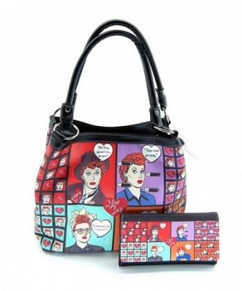 Love Lucy Collage Medium Wallet