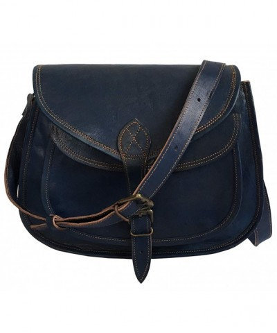 Leather Shoulder Crossbody Satchel Genuine