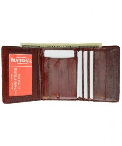 Genuine Leather Bifold Wallet Marshal