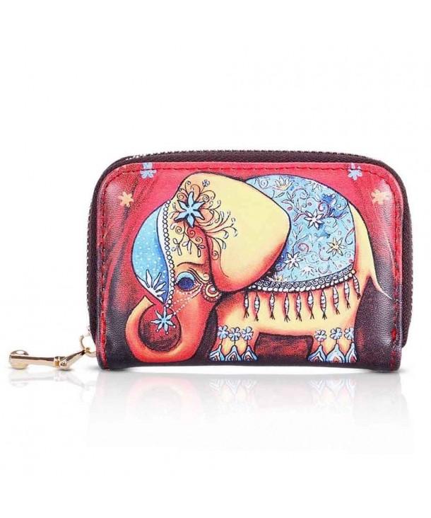 XeYOU Cartoon Patterns Accordion Elephant
