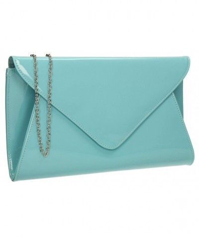 Leather Designer Clutch Bag Envelope