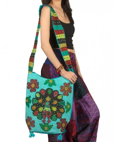 Tribe Azure Shoulder Messenger Crossbody