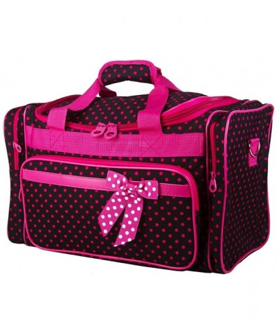 Ever Polka Large Duffle Black