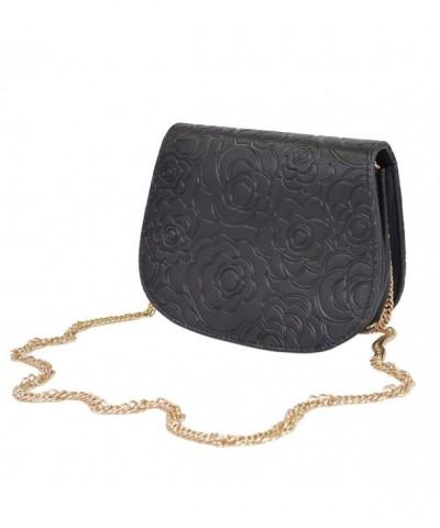 Elegant Floral Crossbody Handbag Evening