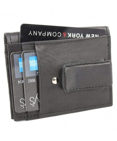 Lambskin Leather Bifold Multifunctional Wallet