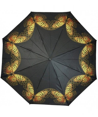 PealRa Yellow Butterfly Super Umbrella