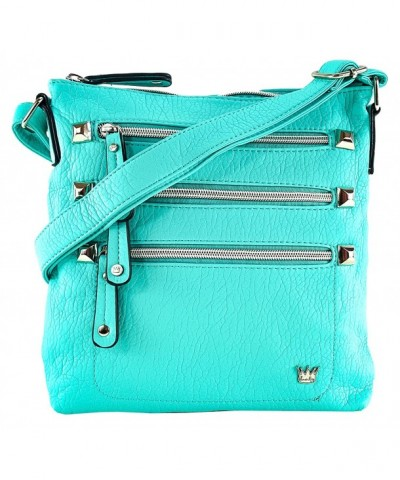 Purse King Queen Cross Turquoise