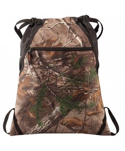 Drawstring Backpack Bag Camouflage Adjustable