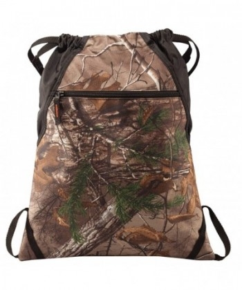 Drawstring Backpack Bag Camouflage Adjustable