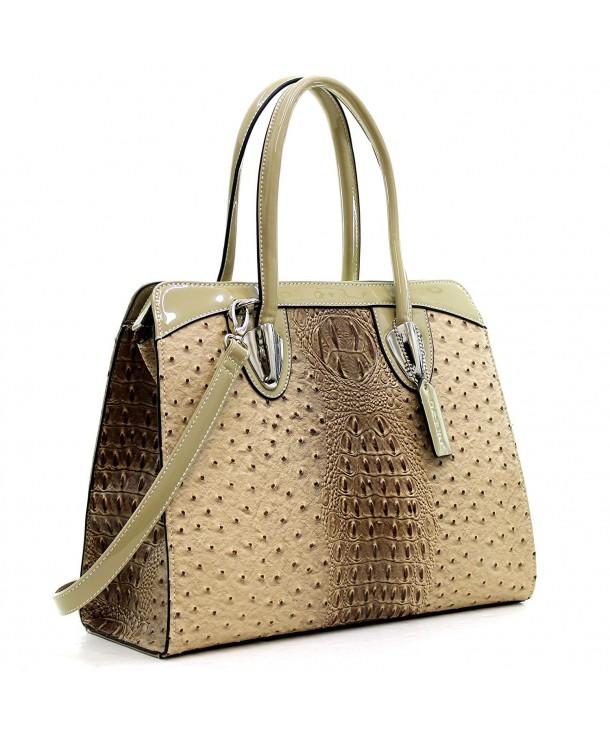 Designer Handbag Leather Satchel Shoulder