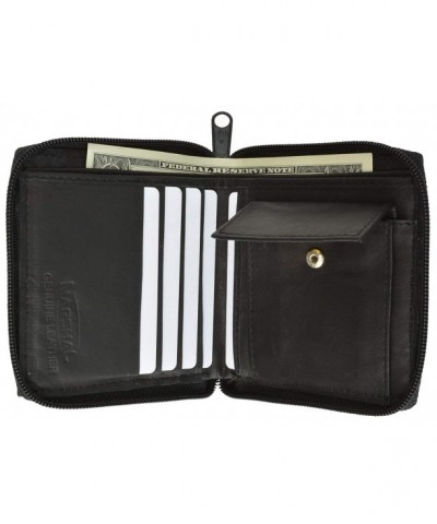 Around Bifold Wallet Purse Marshal