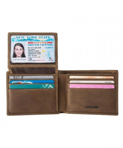 Vintage Genuine Leather Blocking Wallets