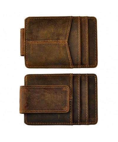 Leaokuu Genuine Leather Cowhide Credit
