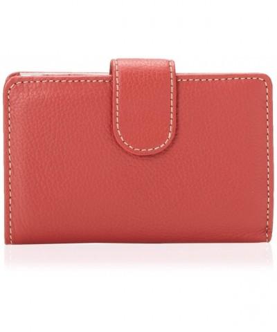Mundi Leather Frame Index Wallet