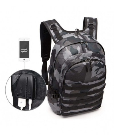 LAYOPO Backpack Function Headphone Camouflage