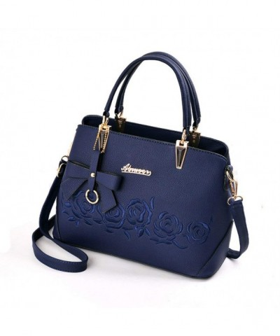 Mogor Leather Handbag Shoulder Embroidery