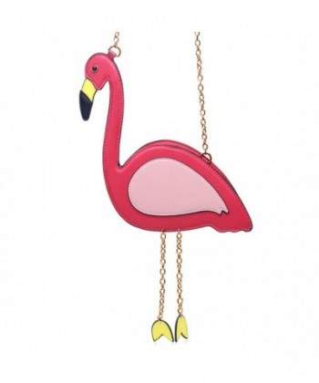 Summer Flamingo Shaped Women Handbag
