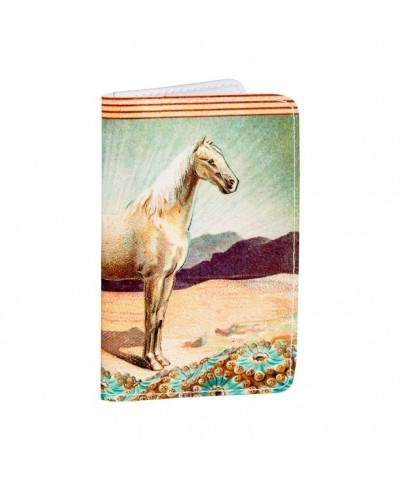 White Horse Gift Holder Wallet