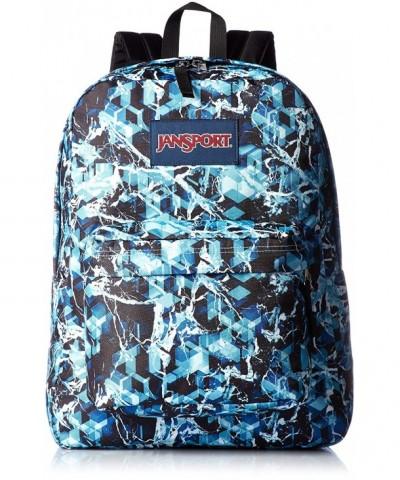 JanSport SuperBreak Backpack Multi Blue