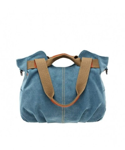 JSBKY Vintage Mulit Pocket Shoulder Shopper