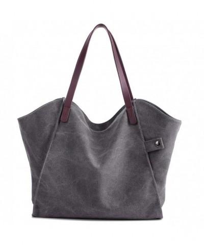Canvas Shoulder Casual Handbag Shopping