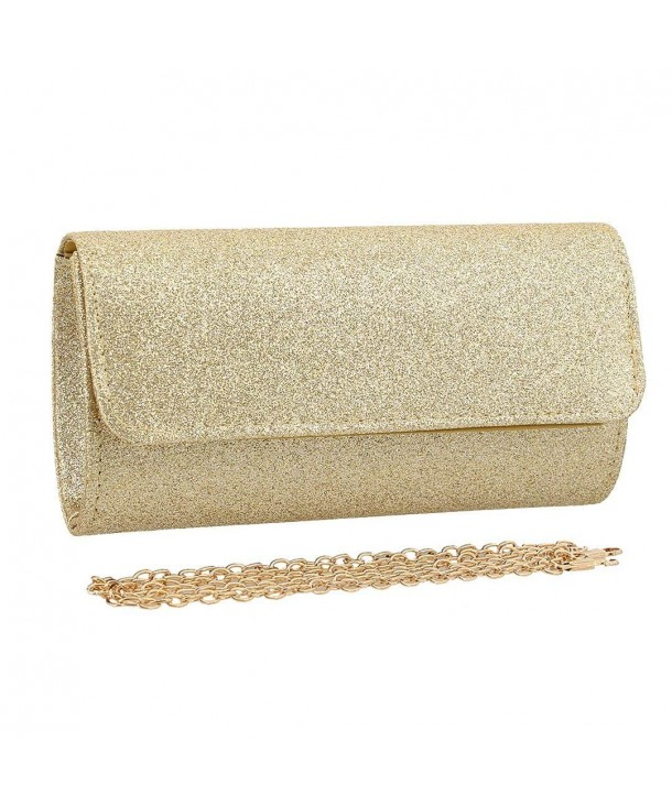 Naimo Dazzling Clutch Evening Detachable