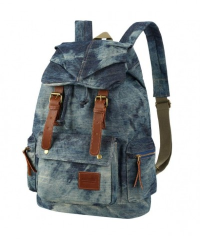 Vbiger Vintage Drawstring Backpack Backpacks