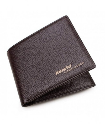 Kunsto Blocking Classic Minimalist Leather