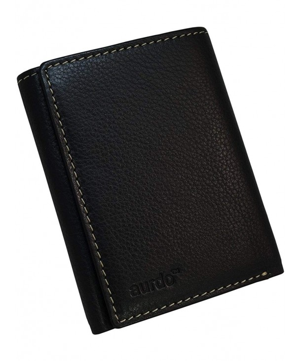 AurDo Blocking Capacity Trifold Wallet
