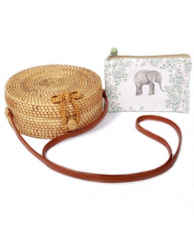 Handwoven Rattan Bag BEEGREENY Handmade
