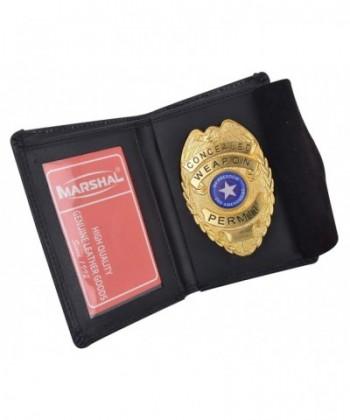 Genuine Leather Bifold Wallet Holder