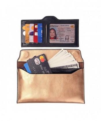 Womens Leather Ultra Slim Wallet