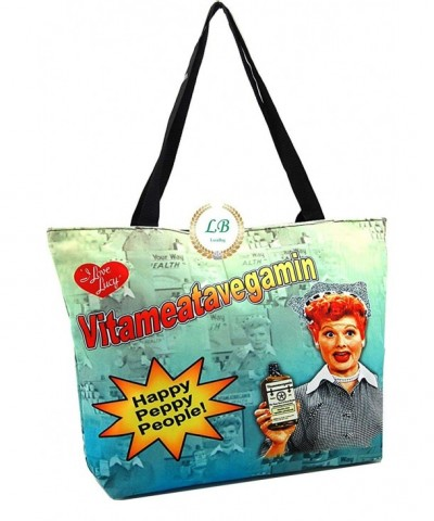 Love Lucy Canvas Large Vitameatavegamin